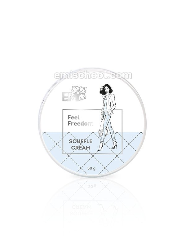 Crema soufflé mani e corpo Feel Freedom 50 ml.
